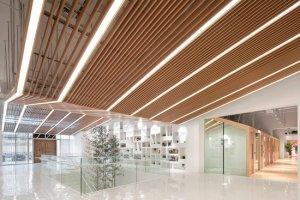 <b>保利WeDo教育机构-吊顶铝单板</b>