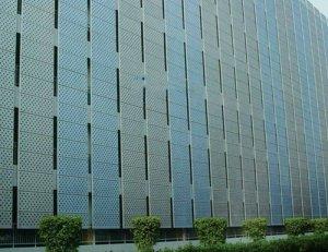 <b>善禾建材幕墙厂家——穿孔铝板幕</b>