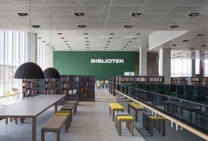 <b>Dokk1图书馆  微冲孔铝单板吊顶</b>