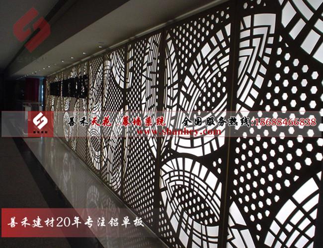 广东雕花铝单板