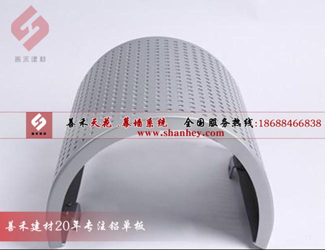 湛江冲孔包柱铝单板