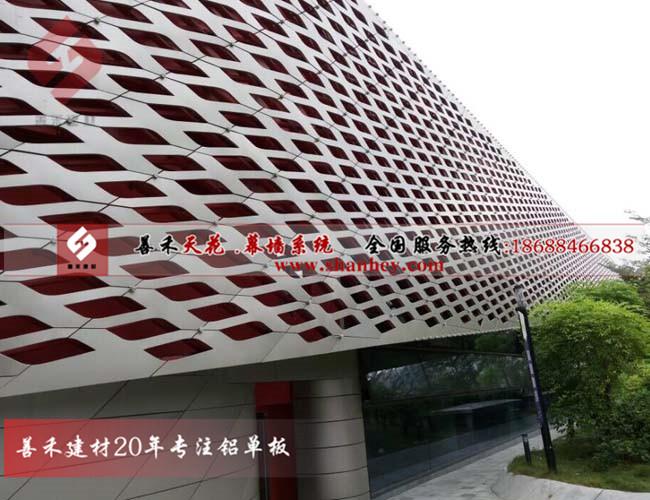 宁夏3.0mm氟碳铝单板外墙、工装铝