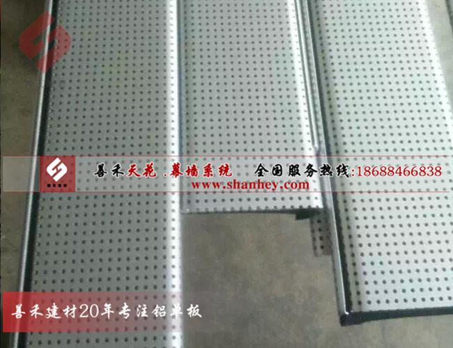 高边防风铝条扣、铝条扣安装工艺